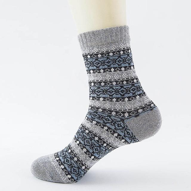 Native American Wool Casual Socks - One Size Fits Most - 20 - Ineffable Shop