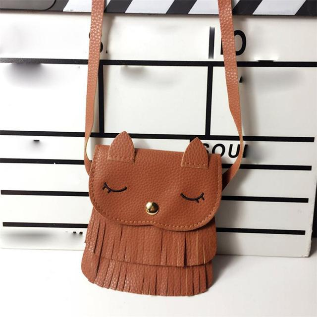 Cute Cat Purse - Brown / United States - Ineffable Shop