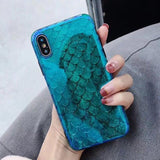 Luxury Mermaid Phone Case For iPhone (6 - 6s - 7 - 7 Plus - 8 - 8 Plus - X) - Multi / For iphone 6Plus 6SP - Ineffable Shop