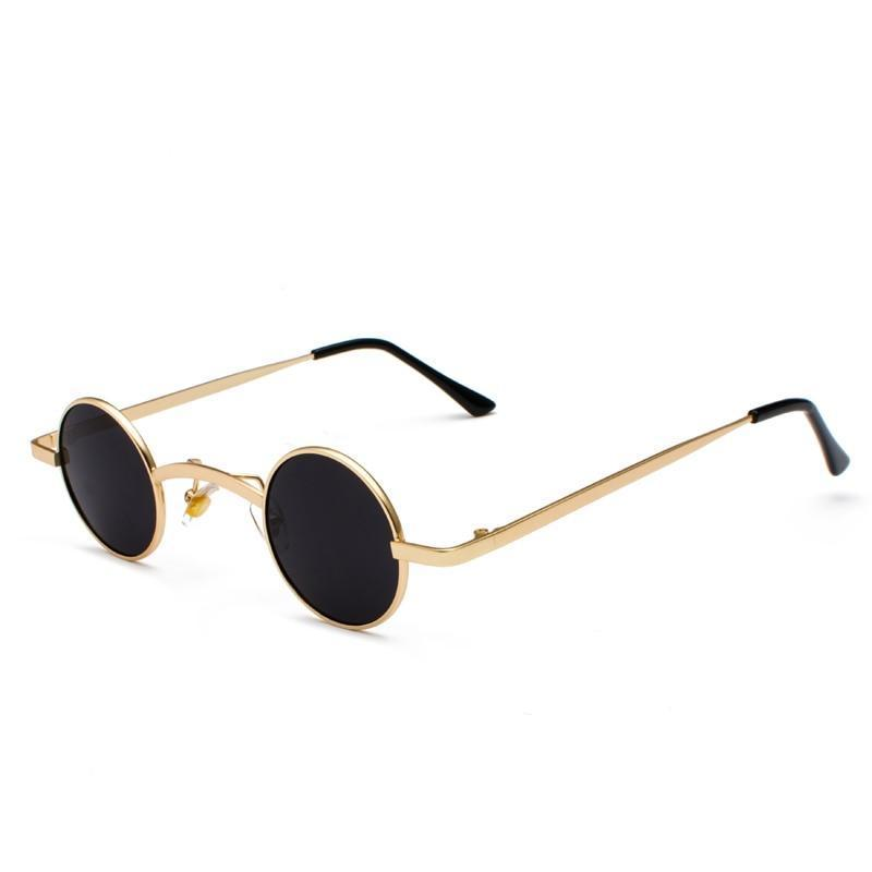 Small Round Steampunk Sunglasses - - Ineffable Shop
