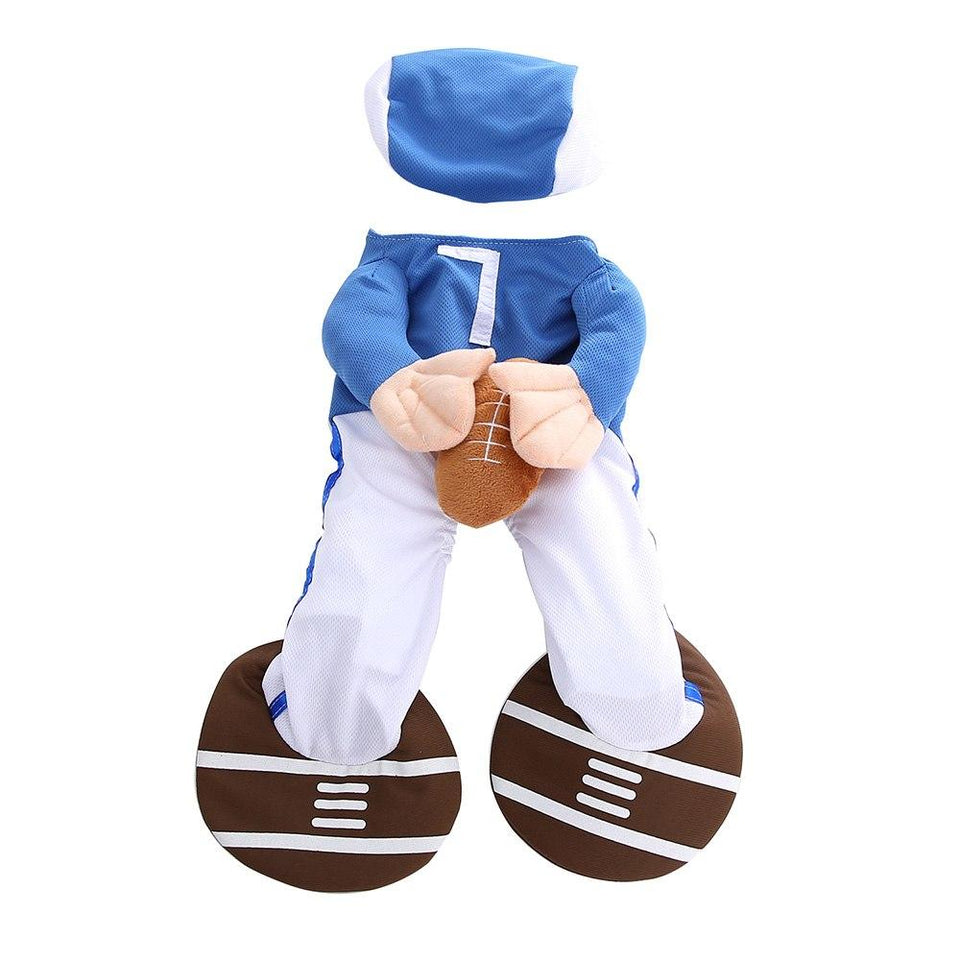 Funny Halloween American Football Costumes For Dogs & Cats - - Ineffable Shop