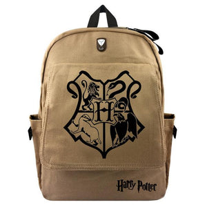 Harry Potter Canvas Backpack - Ineffable Shop