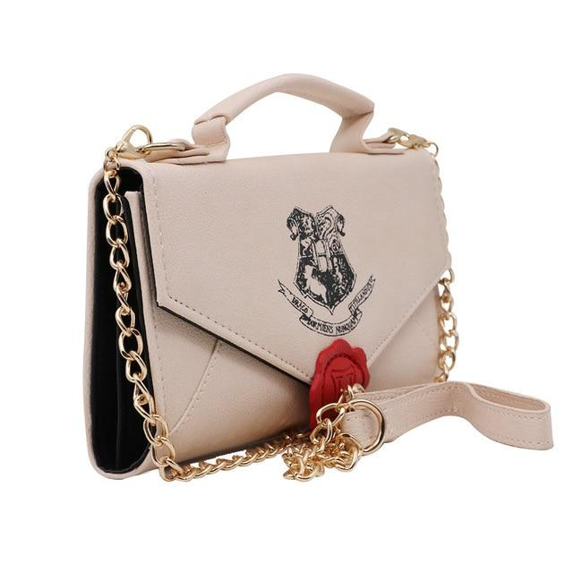 Harry Potter Hogwarts Letter PU Handbag - Default Title - Ineffable Shop