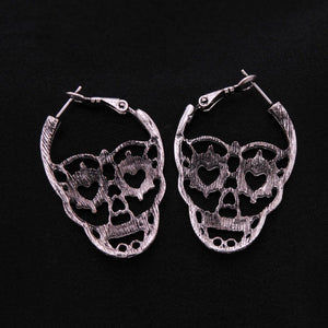 Premium Vintage Skull Earrings - - Ineffable Shop