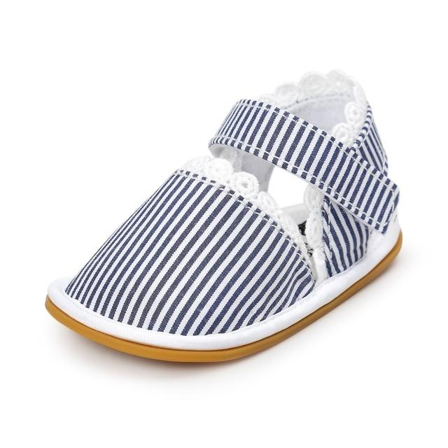 2018 Newborn Baby Shoes Fashion Newborn Girl Baby Retro Printed First Walker Toddlers Kids Soft Bottom Cotton Shoes - as picture / 3 - Ineffable Shop