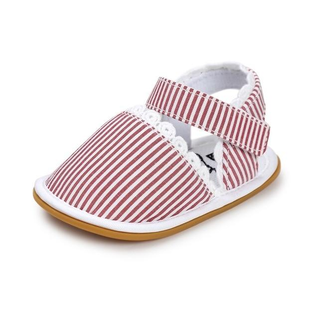 2018 Newborn Baby Shoes Fashion Newborn Girl Baby Retro Printed First Walker Toddlers Kids Soft Bottom Cotton Shoes - as picture 1 / 3 - Ineffable Shop