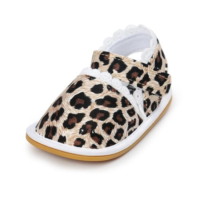 2018 Newborn Baby Shoes Fashion Newborn Girl Baby Retro Printed First Walker Toddlers Kids Soft Bottom Cotton Shoes - as picture 3 / 3 - Ineffable Shop