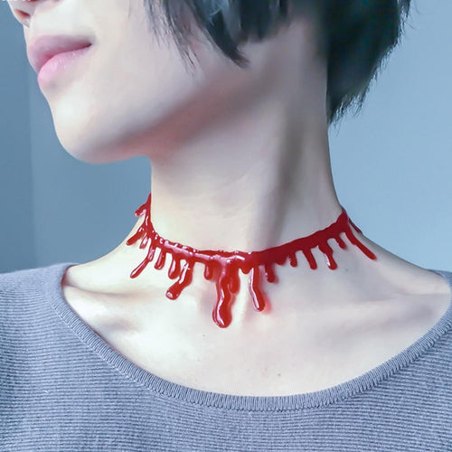 Super Cool Halloween Dripping Blood Choker - - Ineffable Shop