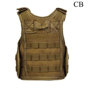 Tactical Premium Beer Military Molle | Mini Miniature Hunting Vests Beverage Cooler - CB - Ineffable Shop
