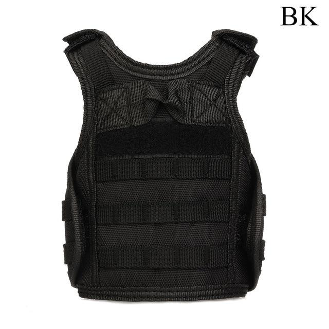 Tactical Premium Beer Military Molle | Mini Miniature Hunting Vests Beverage Cooler - BK - Ineffable Shop