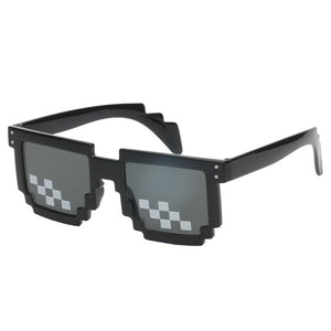 Super Cool Thug Life Pixelated Sunglasses - Ineffable Shop