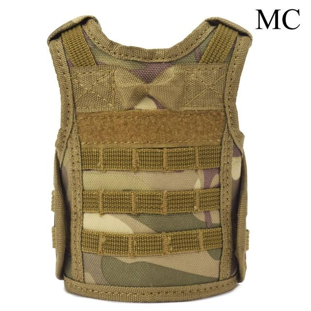 Tactical Premium Beer Military Molle | Mini Miniature Hunting Vests Beverage Cooler - MC - Ineffable Shop