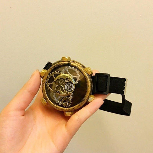 Single Eye Steampunk Goggles - - Ineffable Shop