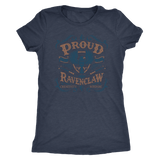 Ravenclaw Pride Next Level Womens Triblend - Next Level Womens Triblend / Vintage Navy / S - Ineffable Shop