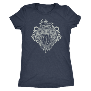 Harry Potter Vintage Slytherin Next Level Womens Triblend - Next Level Womens Triblend / Vintage Navy / S - Ineffable Shop