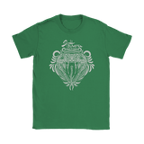 Harry Potter Vintage Slytherin Gildan Womens T-Shirt - Gildan Womens T-Shirt / Irish Green / S - Ineffable Shop