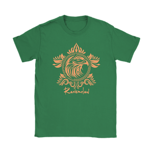 Harry Potter Vintage Ravenclaw Gildan Womens T-Shirt - Gildan Womens T-Shirt / Irish Green / S - Ineffable Shop