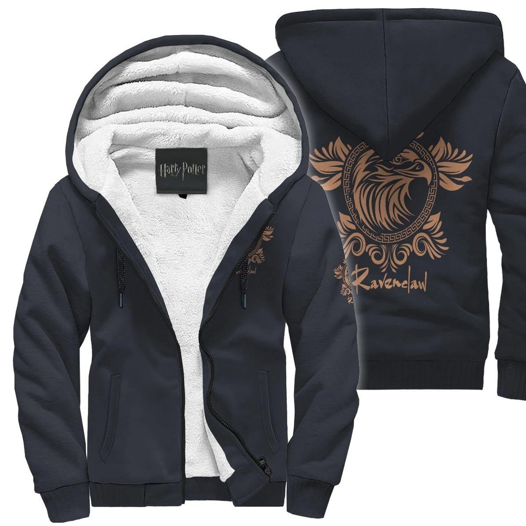 Harry Potter Ravenclaw Sherpa Hoodie HPSH001 - - Ineffable Shop