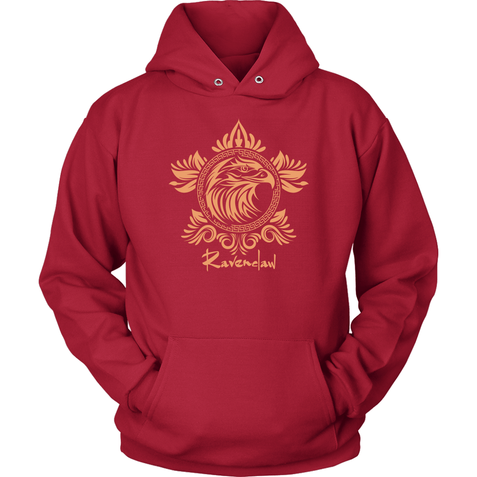 Harry Potter Vintage Ravenclaw Unisex Hoodie - Unisex Hoodie / Red / S - Ineffable Shop