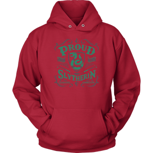 Slytherin Unisex Hoodie - Unisex Hoodie / Red / S - Ineffable Shop