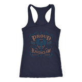 Ravenclaw Pride Next Level Racerback Tank - Next Level Racerback Tank / Navy / XS - Ineffable Shop