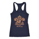 Harry Potter Vintage Ravenclaw Next Level Racerback Tank - Next Level Racerback Tank / Navy / XS - Ineffable Shop
