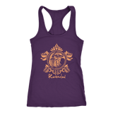 Harry Potter Vintage Ravenclaw Next Level Racerback Tank - Next Level Racerback Tank / Purple / XS - Ineffable Shop