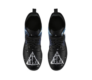 Harry Potter Expector Patronum Leather Boots HP0129 - - Ineffable Shop