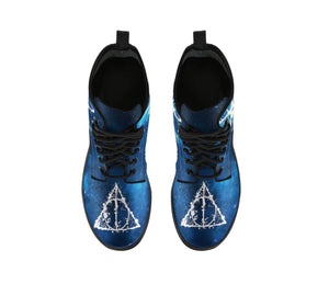Harry Potter Patronus Leather Boots HP0128 - - Ineffable Shop