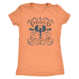 Ravenclaw Pride Next Level Womens Triblend - Next Level Womens Triblend / Vintage Light Orange / S - Ineffable Shop