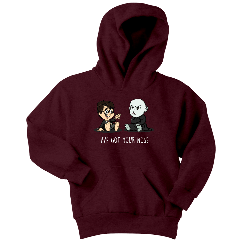 I've Got Your Nose Youth Hoodie - Youth Hoodie / Maroon / XS - Ineffable Shop