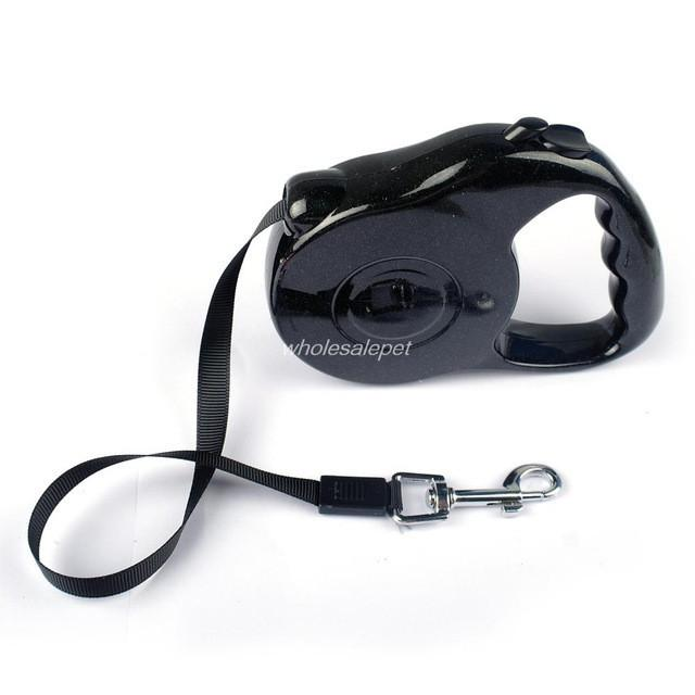 3M 5M Retractable Dog Leash Extending Puppy Walking Leads - Black / 3M 11KG - Ineffable Shop