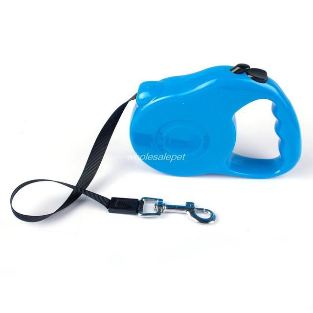 3M 5M Retractable Dog Leash Extending Puppy Walking Leads - Blue / 3M 11KG - Ineffable Shop