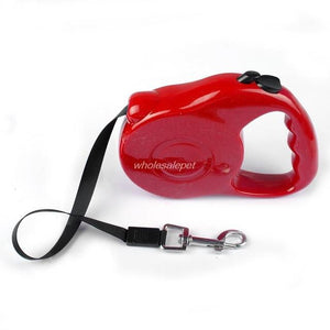 3M 5M Retractable Dog Leash Extending Puppy Walking Leads - Red / 3M 11KG - Ineffable Shop