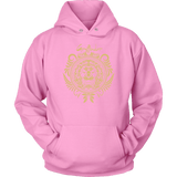 Harry Potter Vintage Gryffindor Badge Unisex Hoodie - Unisex Hoodie / Pink / S - Ineffable Shop