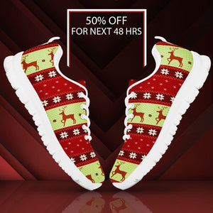 Christmas Pattern Men's Running Shoes - - Ineffable Shop
