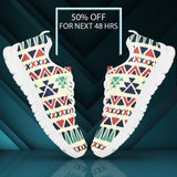 Native American Pattern Women's Running Shoes Design NT090 - - Ineffable Shop
