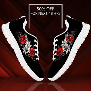 Black Rose Men's Running Shoes - Ineffable Shop