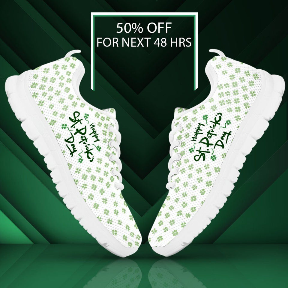 St.Patrick's Day Men's Running Shoes - - Ineffable Shop