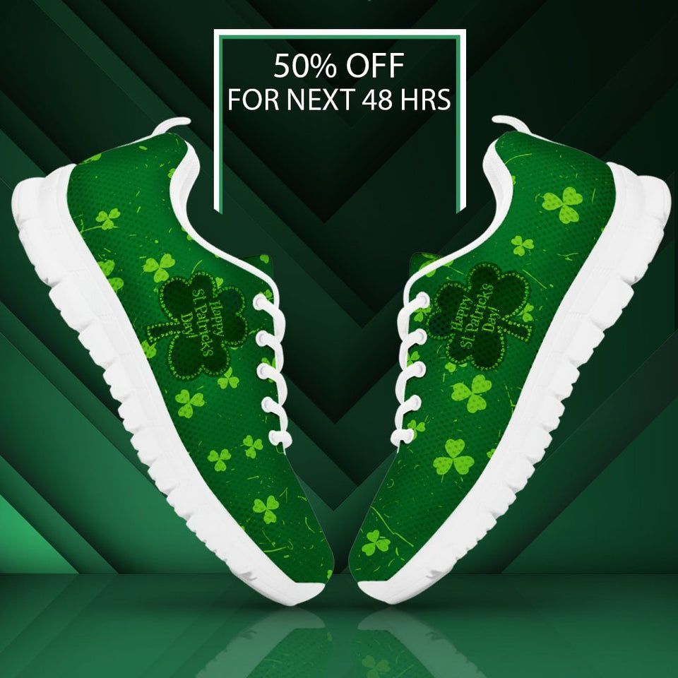 Happy Patrick's Day Kid's Running Shoes