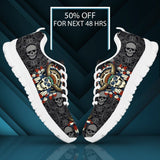 Native American Skull Men's Running Shoes NT113 - - Ineffable Shop