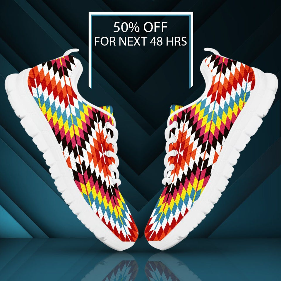 Native American Indian Kid's Sneaker Design NT065 - - Ineffable Shop