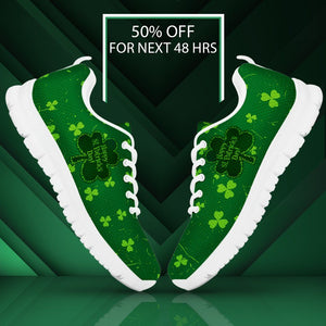 Happy Patrick's Day Men's Running Shoes - - Ineffable Shop