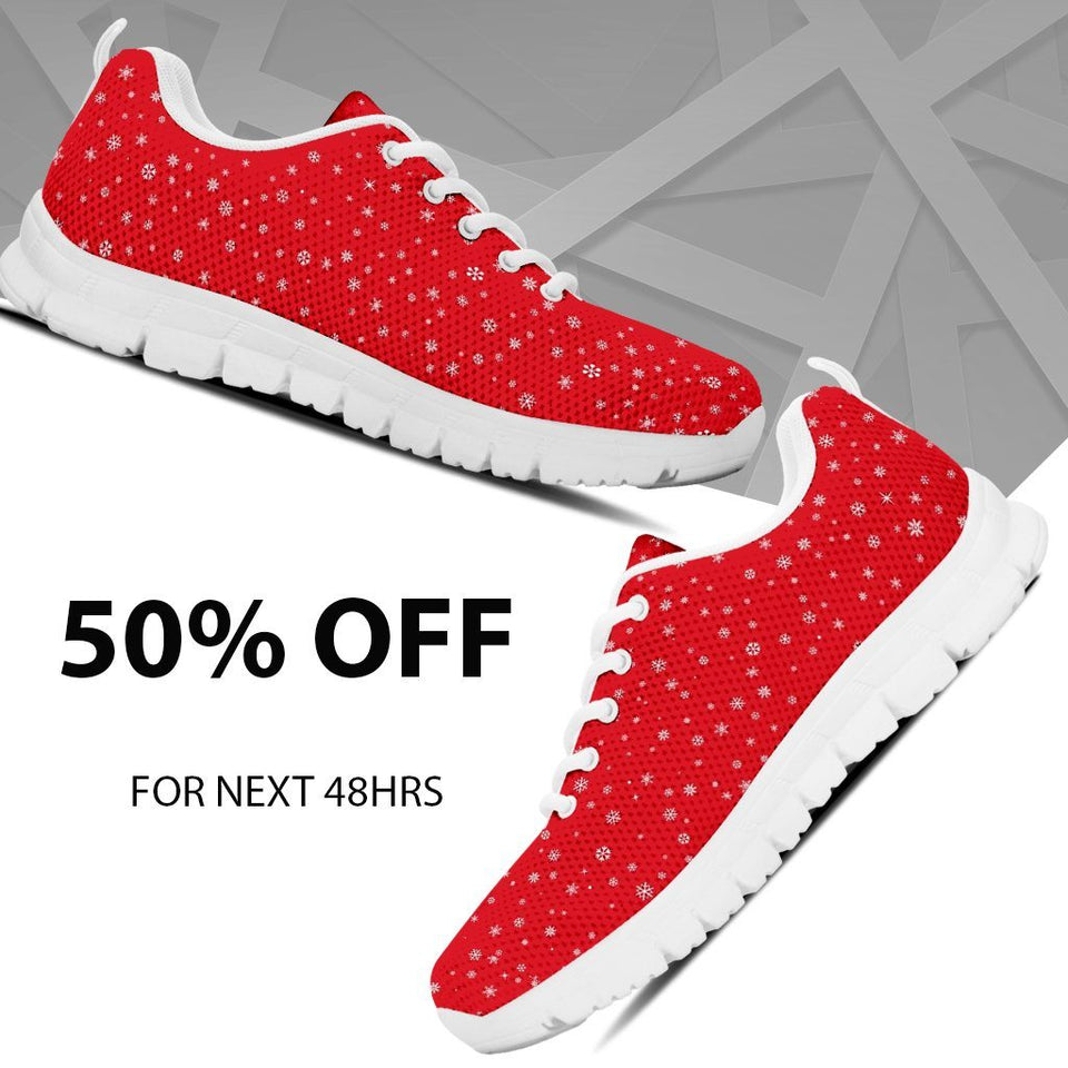Happy Christmas Women's Running Shoes - - Ineffable Shop