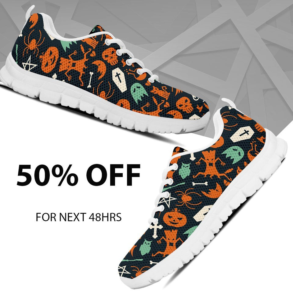 Happy Halloween Kid's Running Shoes HLW019 - Ineffable Shop