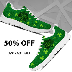 Happy Patrick's Day Kid's Running Shoes - Ineffable Shop