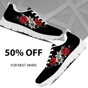 Black Rose Women's Running Shoes - - Ineffable Shop
