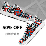 Native American Pattern Men's Running Shoes NT023 - - Ineffable Shop