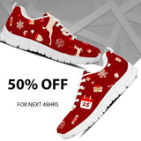 Happy Christmas Kid's Sneakers - - Ineffable Shop