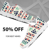 Native American Pattern Men's Running Shoes Design NT091 - - Ineffable Shop